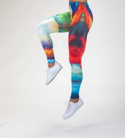 Mr. Gugu & Miss Go, Colorful Space Leggings Thumbnail $i