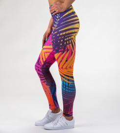 Mr. Gugu & Miss Go, Colorful Palm Leggings Thumbnail $i