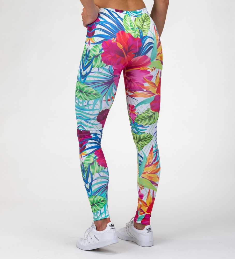 Mr. Gugu & Miss Go, Jungle Flowers Leggings Imagen $i