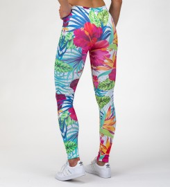 Mr. Gugu & Miss Go, Jungle Flowers Leggings Miniatura $i