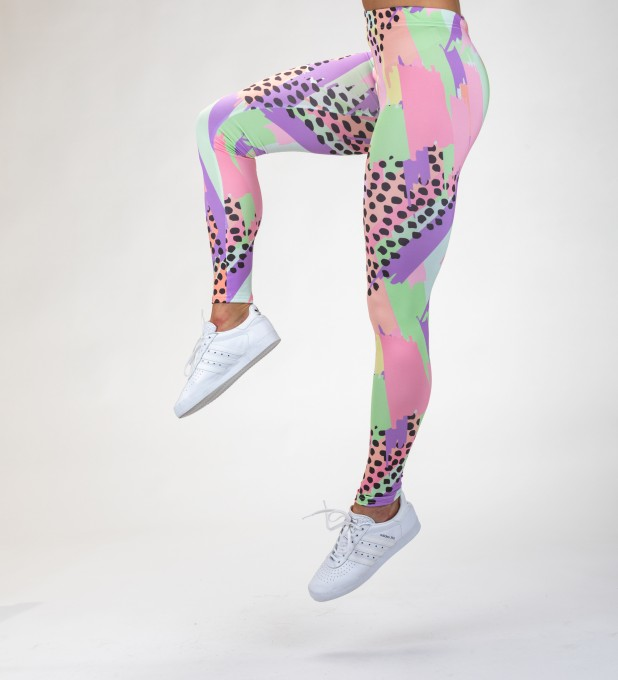 Pastel dots Leggings Miniaturbild 1