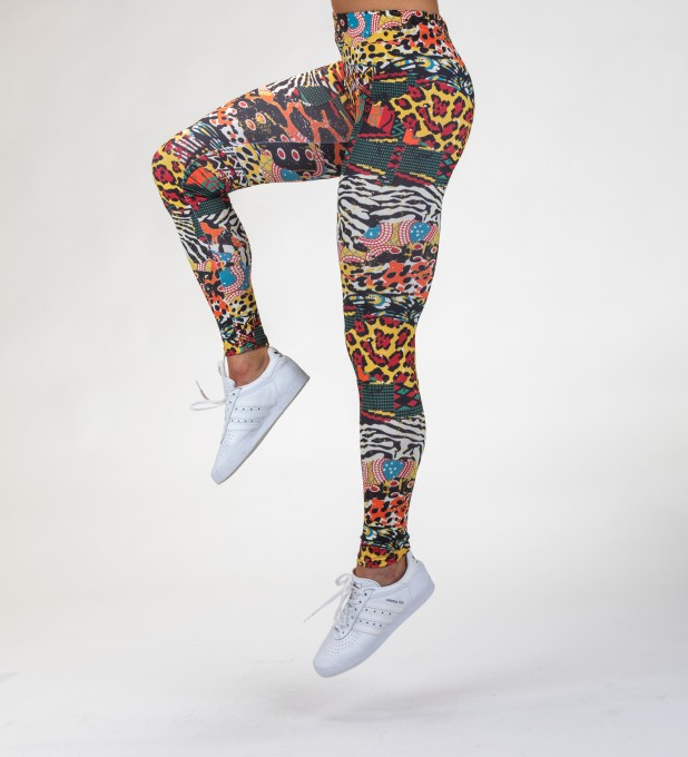 Animal Mix Leggings Thumbnail 2