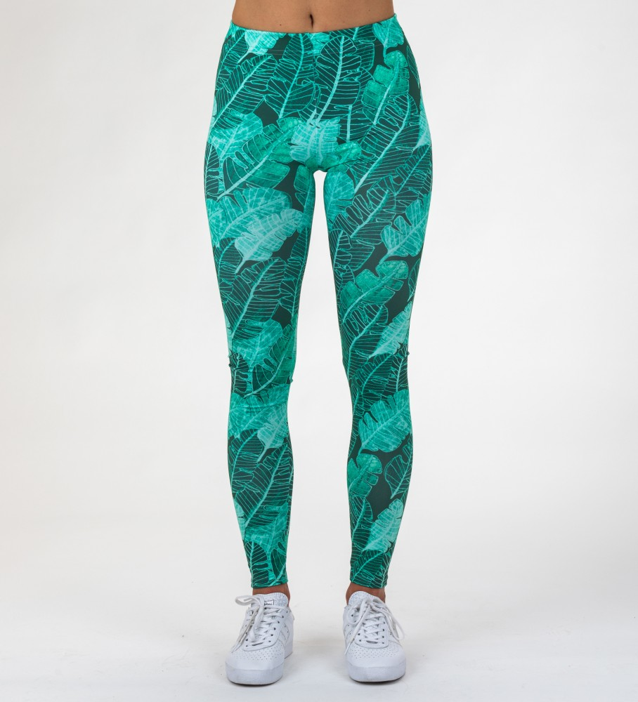 Mr. Gugu & Miss Go, Tropical Leaves Leggings Foto $i