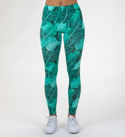 Mr. Gugu & Miss Go, Tropical Leaves Leggings Miniaturbild $i