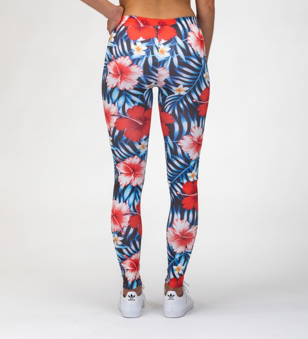 tropical flowers Leggings Miniatura 1