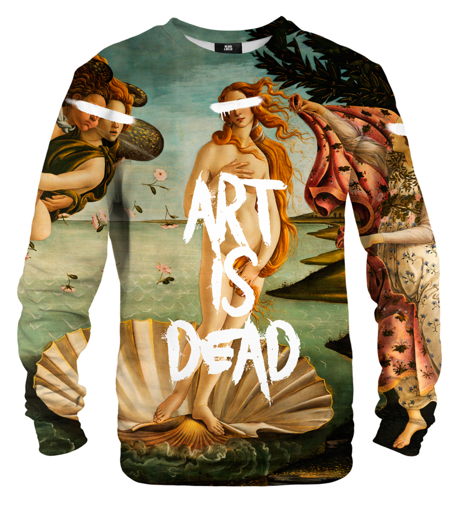 Mr. Gugu & Miss Go, Art is Dead sweater Image $i