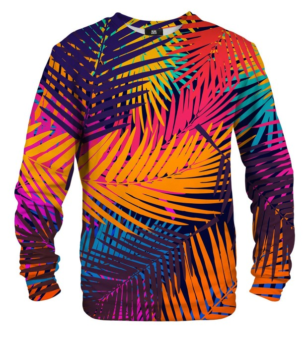 Colorful Palm sweatshirt Miniaturbild 1