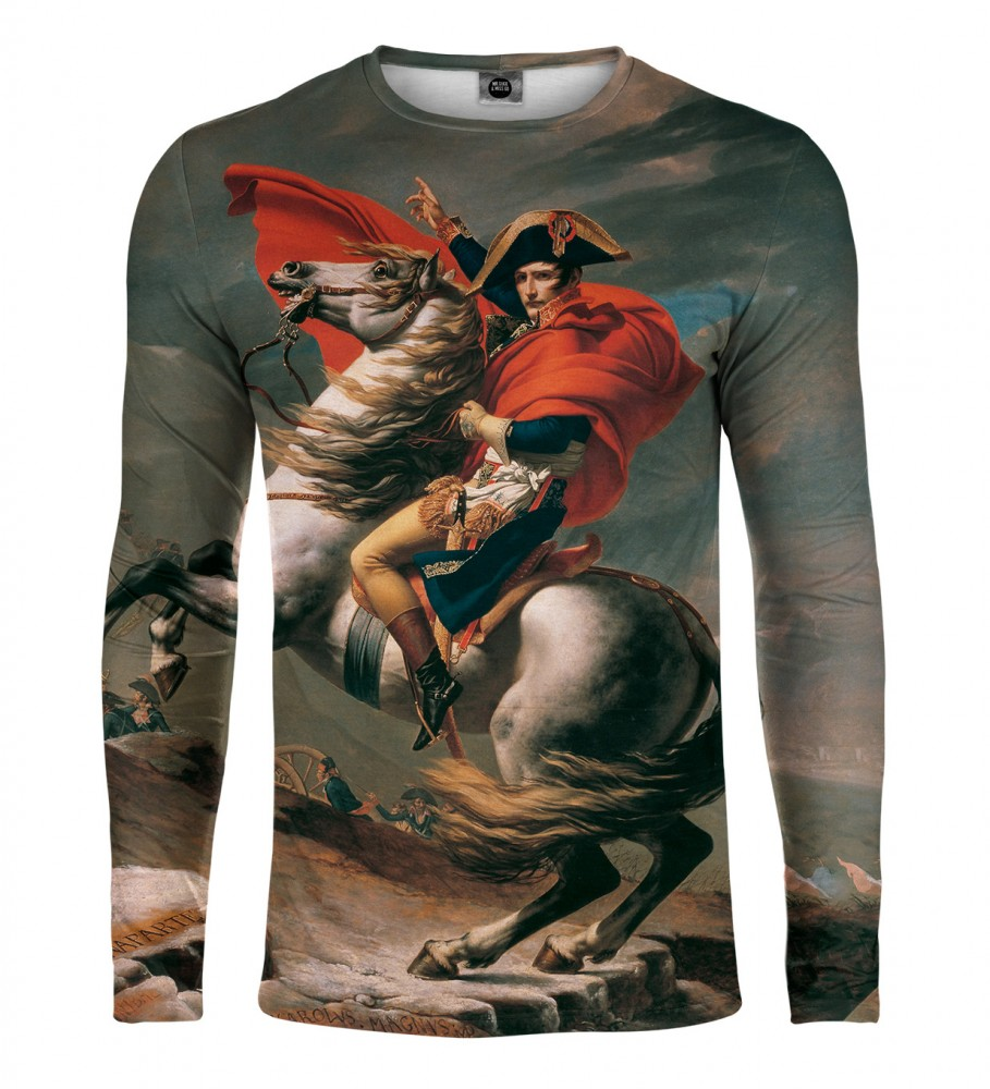 Mr. Gugu & Miss Go, Napoleon Crossing the Alps Langarmshirt Foto $i