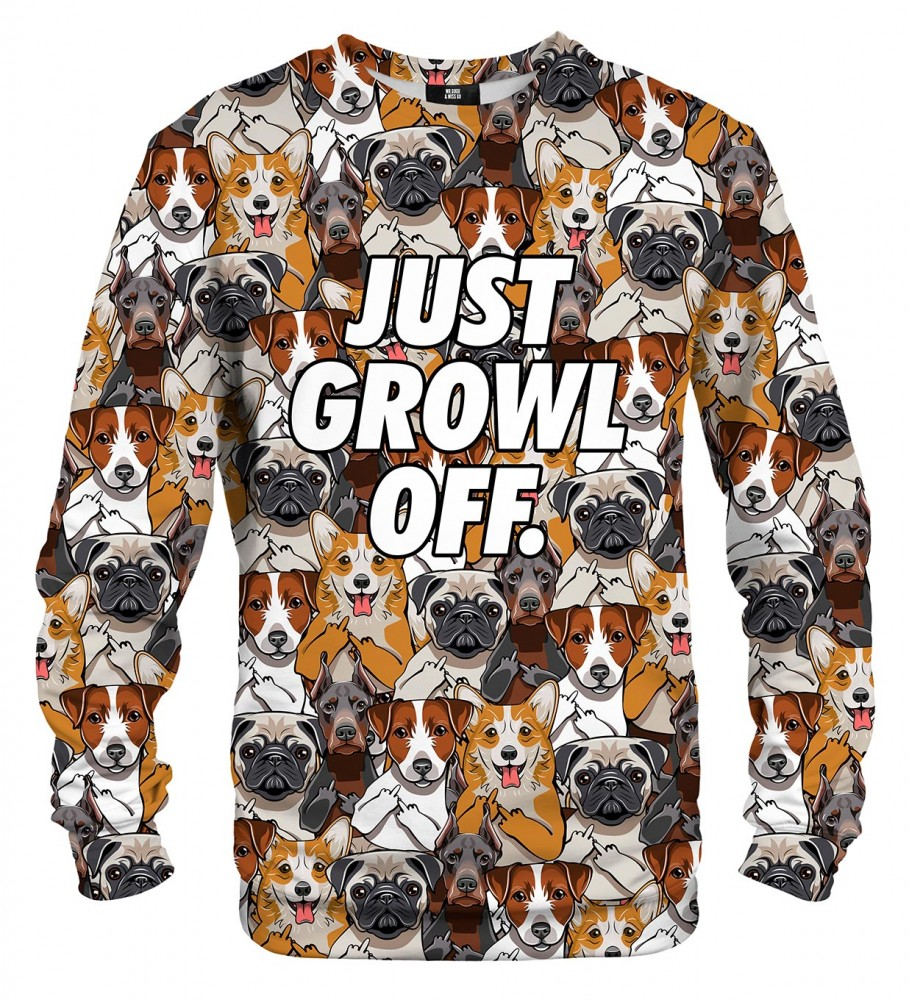 Mr. Gugu & Miss Go, Just growl off sweater Фотография $i