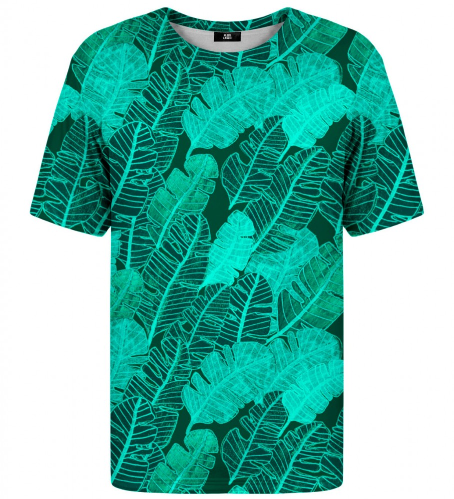 Mr. Gugu & Miss Go, Tropical Leaves t-shirt Image $i
