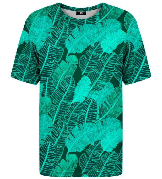T-shirt ze wzorem Tropical Leaves Miniatury 1