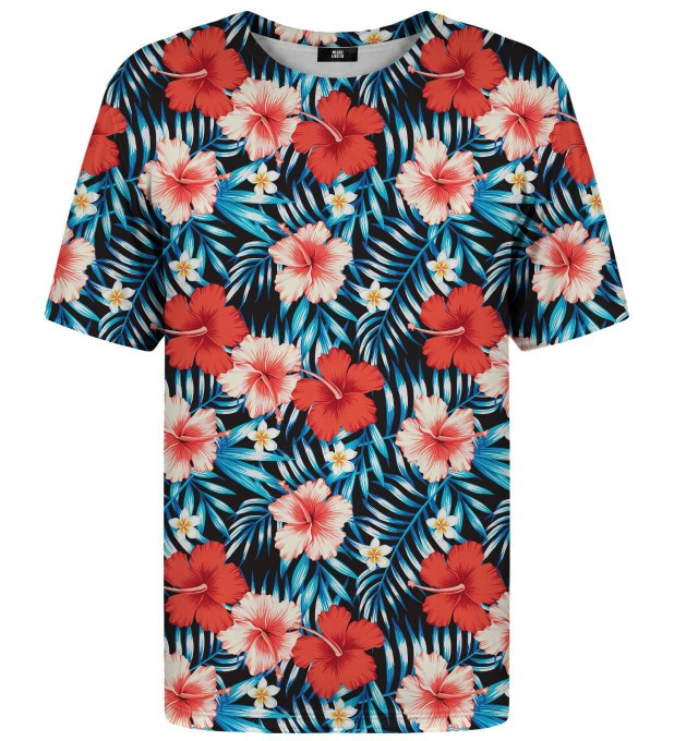 Tropical Flowers t-shirt Miniature 2