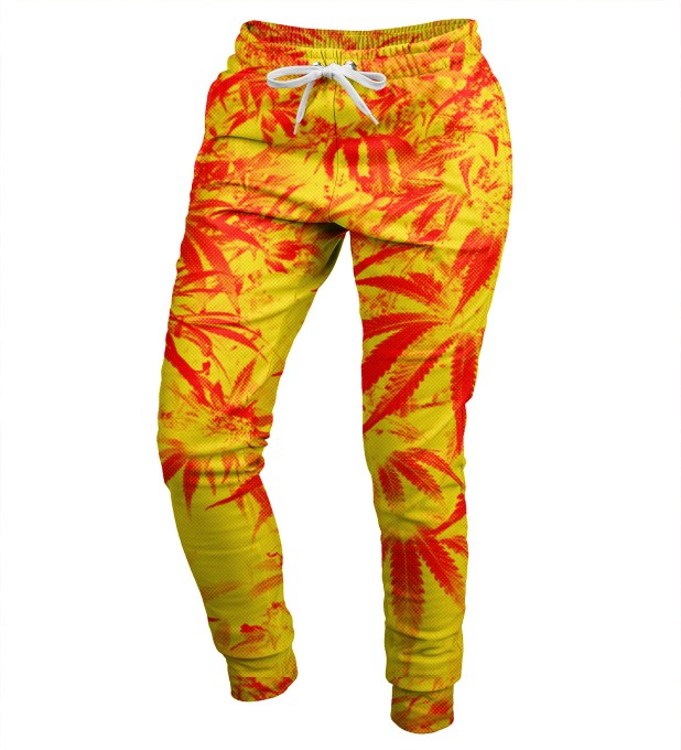 Marijuana womens sweatpants Miniatura 1