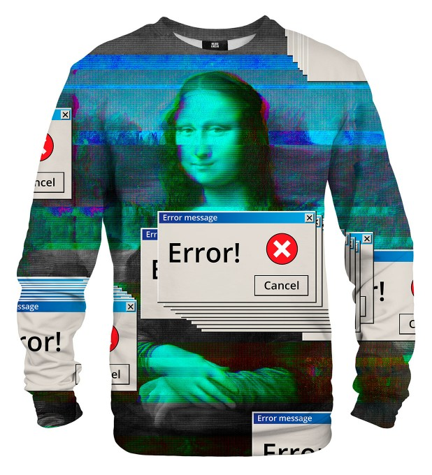 Mona Error Lisa sweater Miniature 2
