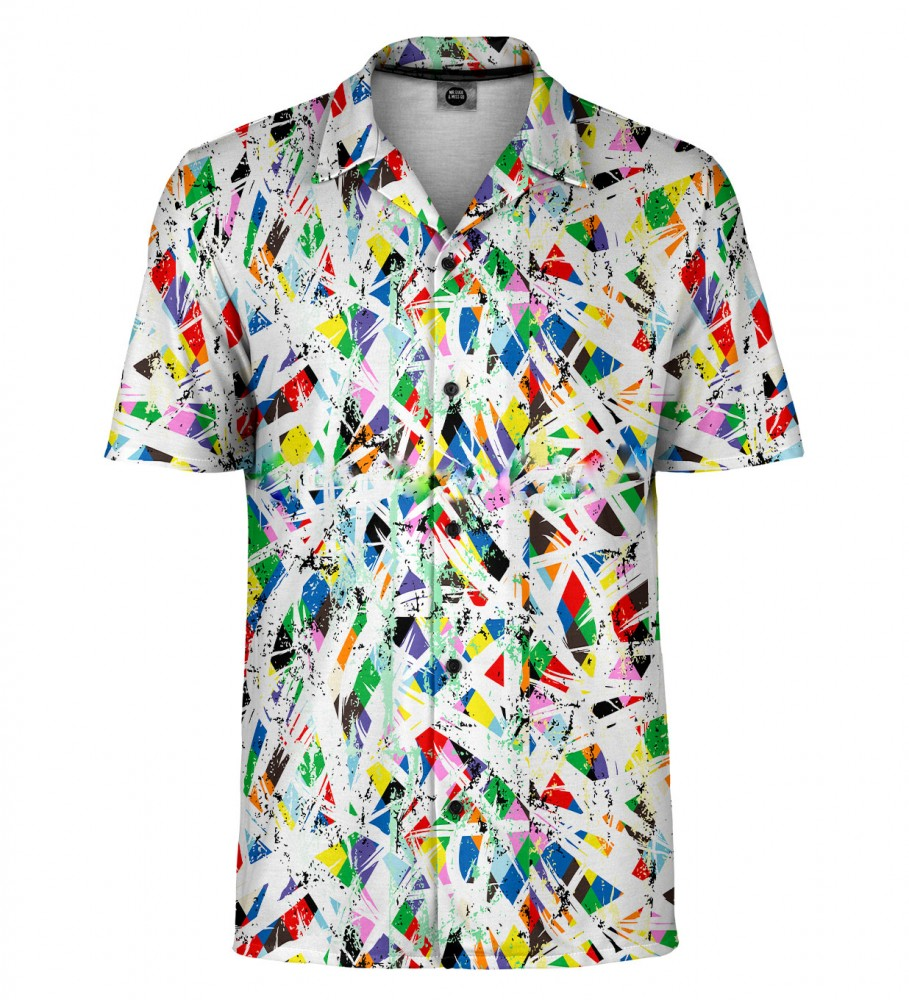 Mr. Gugu & Miss Go, Colorful abstraction Shirt Imagen $i
