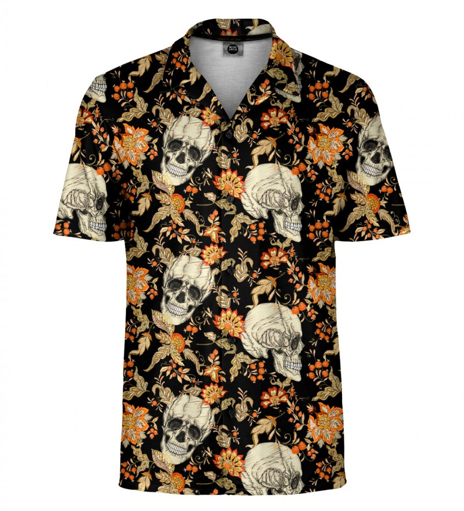Mr. Gugu & Miss Go, Skull pattern Shirt Image $i