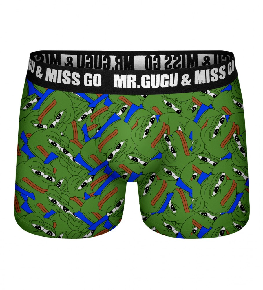 Mr. Gugu & Miss Go, Pepe the frog pattern underwear Image $i