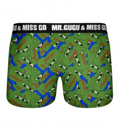 Mr. Gugu & Miss Go, Pepe the frog pattern underwear Miniature $i