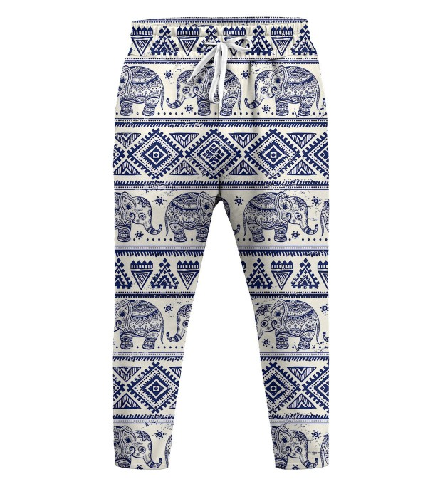 Elephants Pattern Trousers Miniatura 1