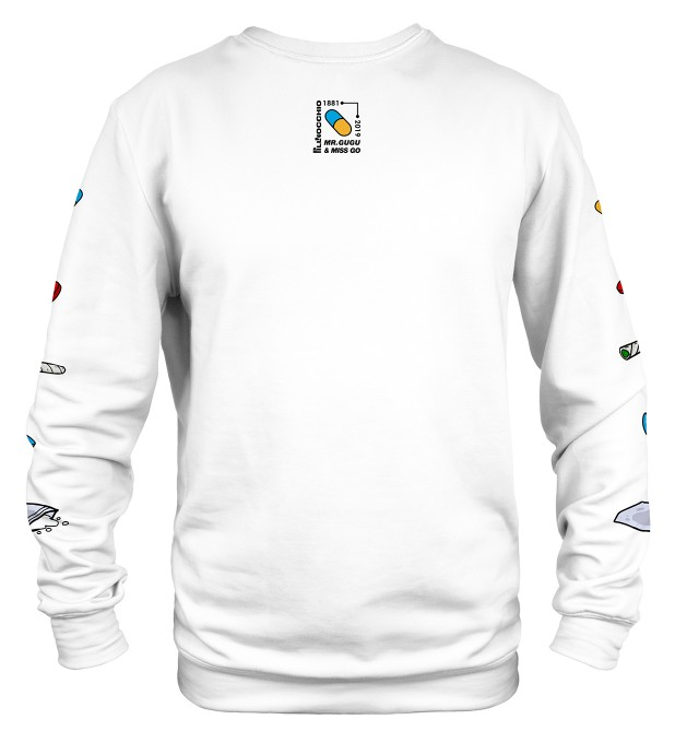 White Pillnocchio sweater Miniatura 2