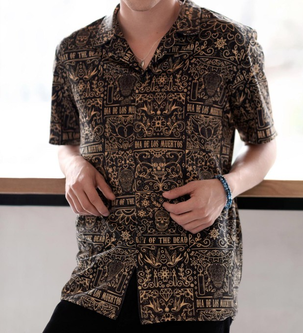 Skull pattern Shirt Miniature 2