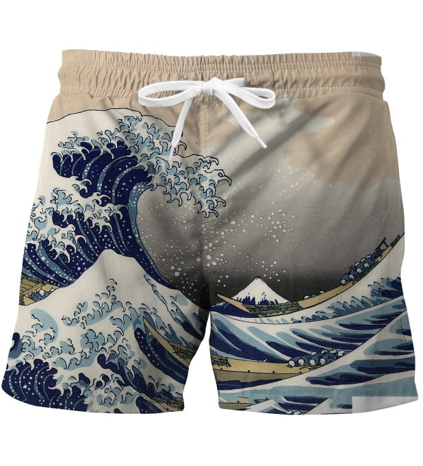 Kanagawa Wave swim trunks Miniature 1