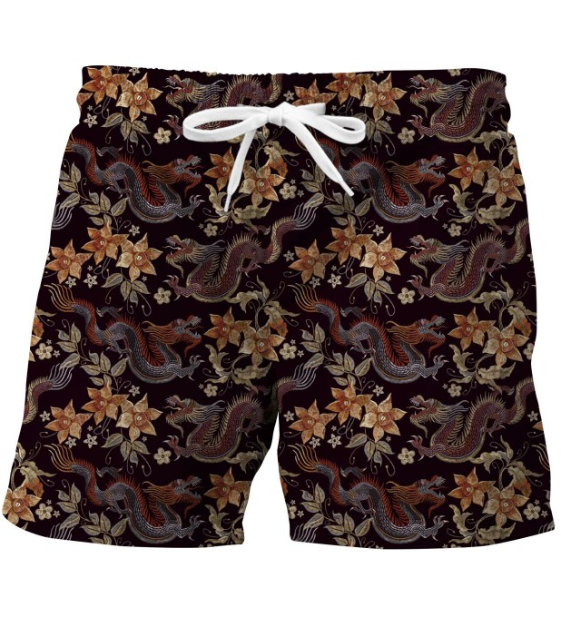 Japanese Dragon swim trunks Miniatura 1