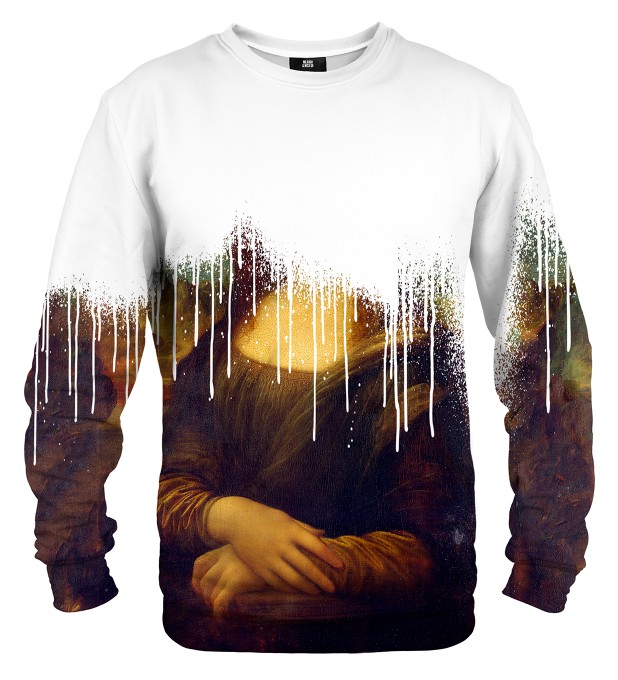 Mona Lisa is dead sweater Thumbnail 2