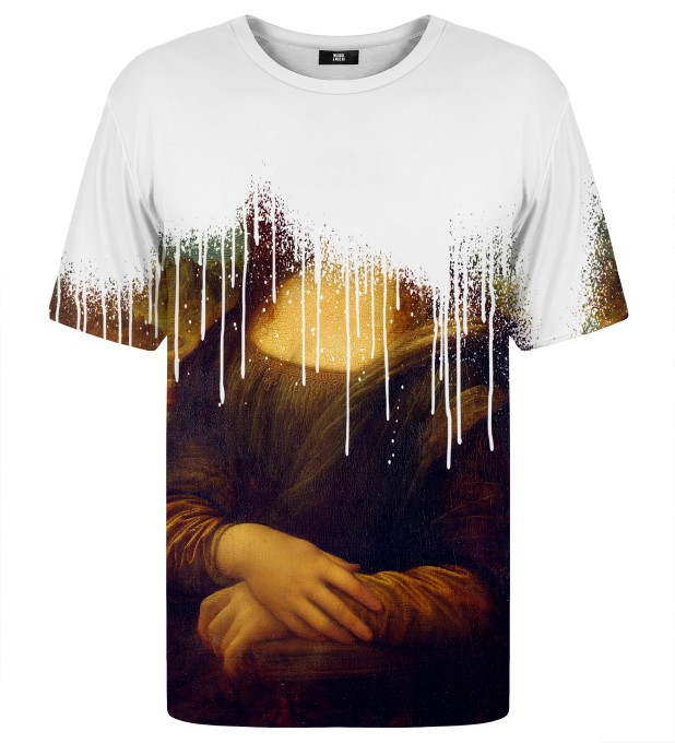 Mona Lisa is dead t-shirt Thumbnail 1
