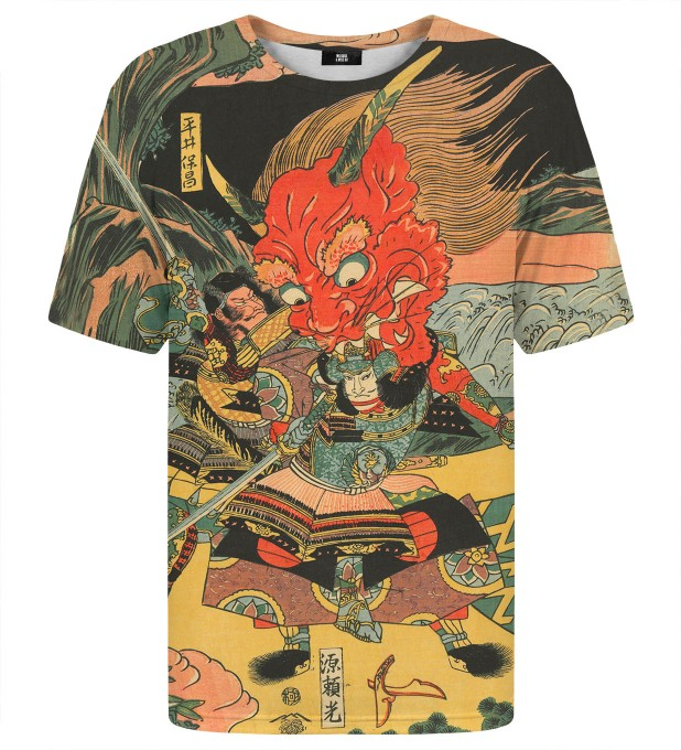 Samurai fight t-shirt Miniaturbild 2