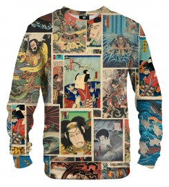 Mr. Gugu & Miss Go, Utagawa mix sweater Miniatura $i