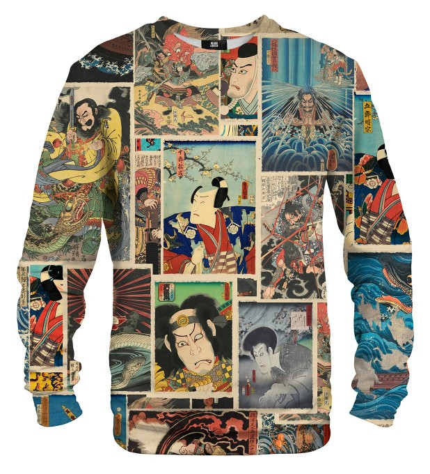 Utagawa mix sweater Thumbnail 1