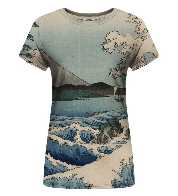 The sea of satta Womens t-shirt Miniatura 1