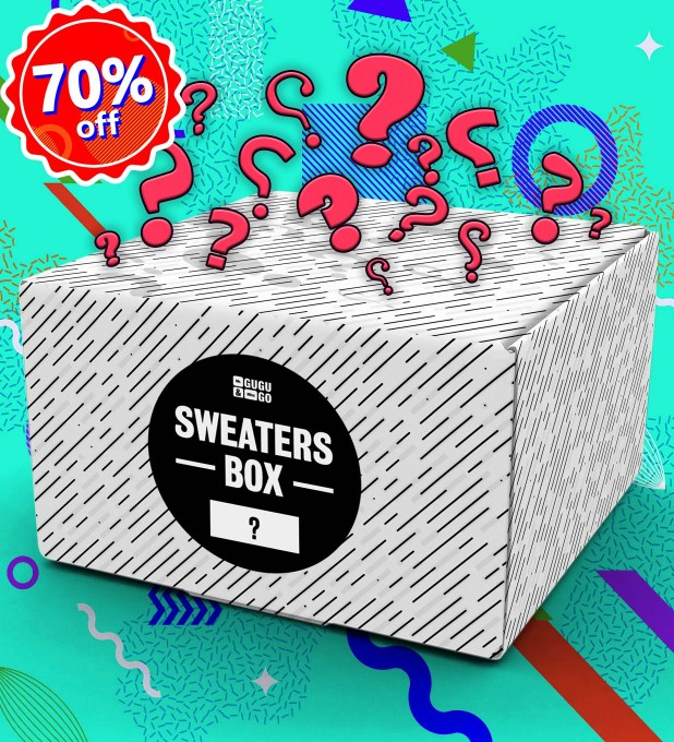 1 piece Mystery Sweater box Miniatura 1