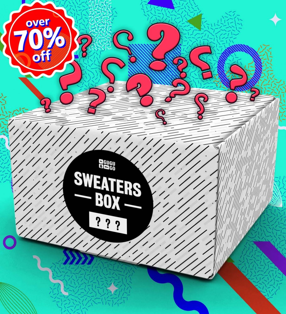 Mr. Gugu & Miss Go, 3 pieces Mystery Sweater box Imagen $i