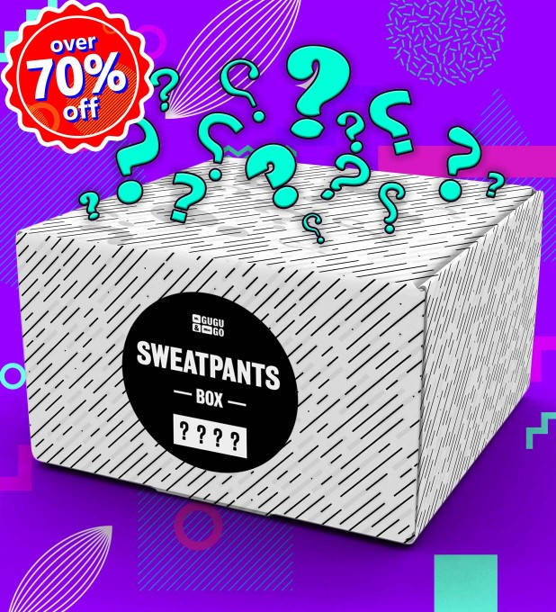 4 pieces Mystery Sweatpants box Miniaturbild 1