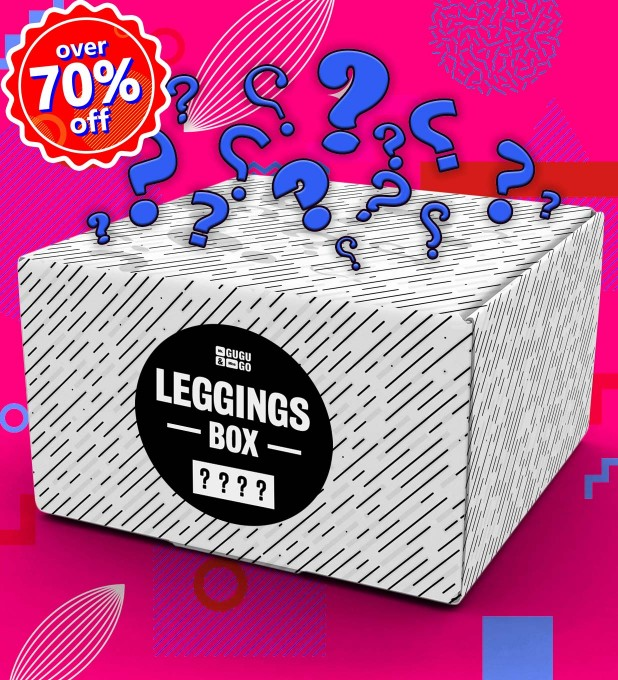 4 piece Mystery Leggings box Miniaturbild 1