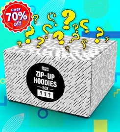 Mr. Gugu & Miss Go, 3 pieces Mystery Hoodie Zip-Up box Thumbnail $i