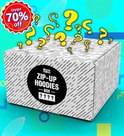 Mr. Gugu & Miss Go, 4 pieces Mystery Hoodie Zip-Up box Thumbnail $i
