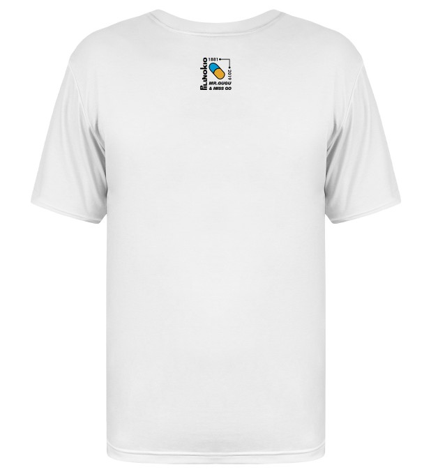 White Pillnocchio t-shirt Miniatura 2