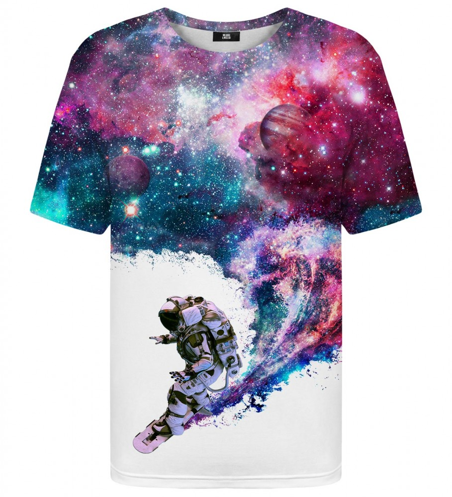 Mr. Gugu & Miss Go, Surfing Cosmonaut t-shirt Image $i