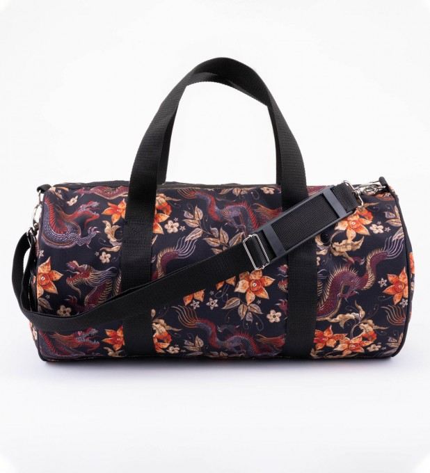 Japanese Dragon Duffle bag Thumbnail 1