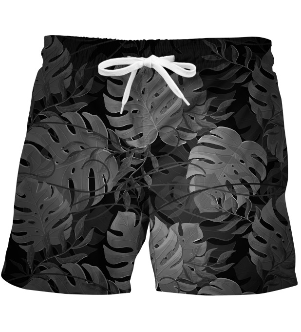 Monstera Black swim trunks Miniature 1