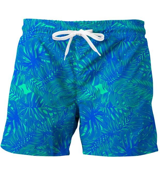 Blue Jungle swim trunks Miniaturbild 1
