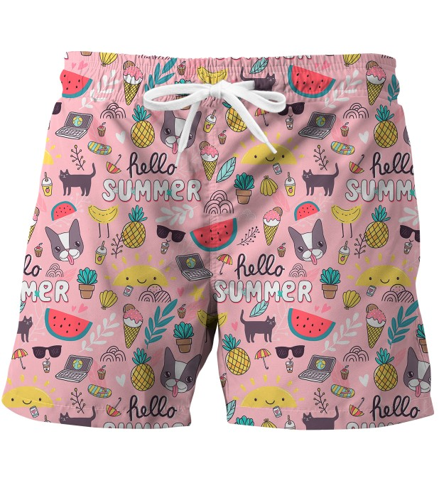 Sweet summer swim trunks Miniature 1