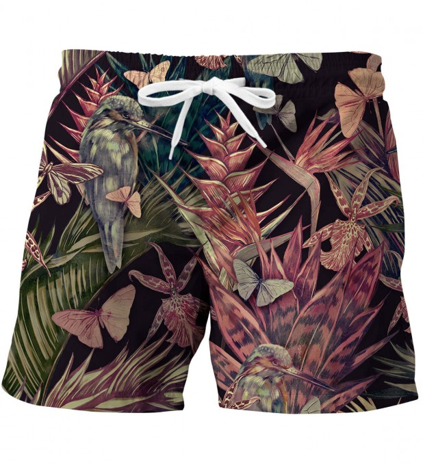 Jungle Bird swim trunks Miniature 1