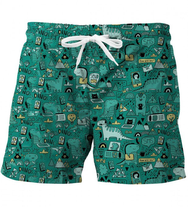 Dino Tech swim trunks Miniature 1