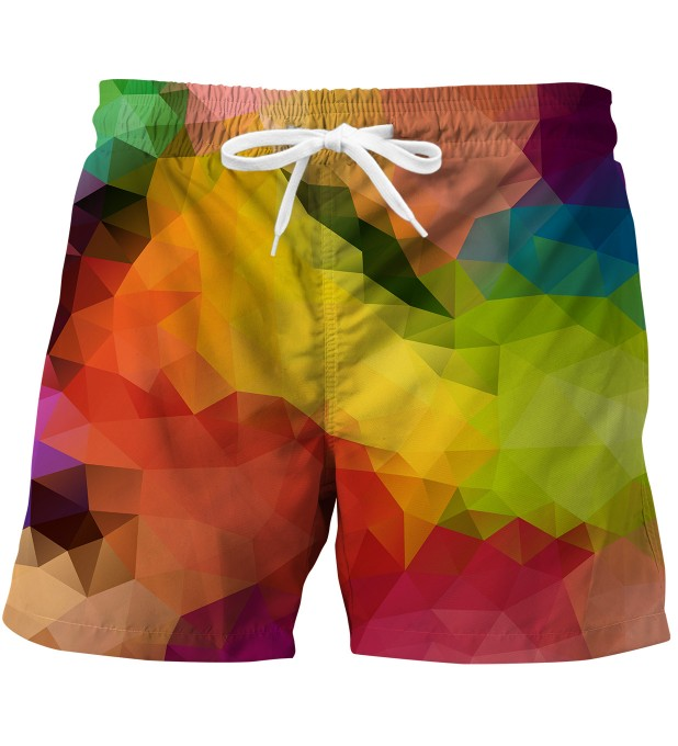 Colorful Geometric swim trunks Miniatura 1