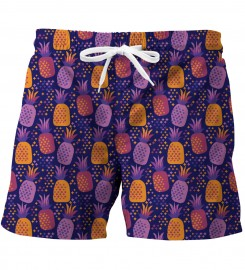 Mr. Gugu & Miss Go, Colorful Pineapples swim trunks аватар $i