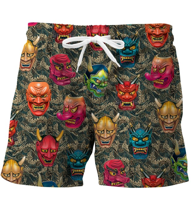 Japanese mask swim trunks Miniatura 1